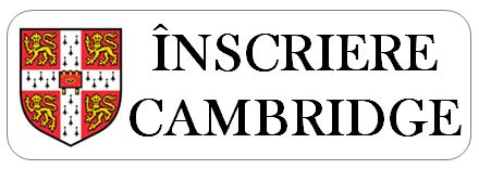 Inscriere Cambridge